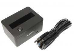 """Док-станция 2,5"""" Maiwo K208 для HDD 2,5"""" SATA через USB2.0 пластик черн."""