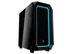 "Корпус Aerocool ""Project 7"" P7-C0 Pro, Black, Mid Tower, без БП, 0,7 мм, для ATX / Micro ATX / Mini ITX, ATX PSU, 214.4 x 468 x 451 мм, 8,4 кг (1x120"