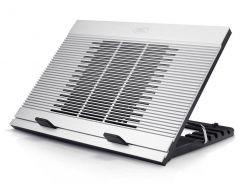 """Подставка для ноутбука до 17"""" DeepCool N9, White, 18 см вентилятор (контроль оборотов, 16/20 dB, 600/1000 rpm), алюминевая панель, 4xUSB Hub,"""
