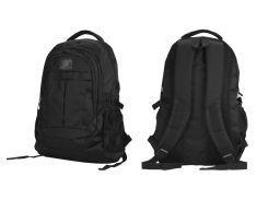 "Рюкзак для ноутбука 16"" Continent BP-001BK, Black, полиэстер, 26 x 39 x 3,9 см"