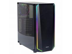 Корпус Zalman K1 (Black) Steel/Plastic, ATX, M-ATX, M-ITX Mid Tower, USB 3.0 x 2, USB 2.0 x 2, микрофон х 1, наушники х 1, LED контроллер