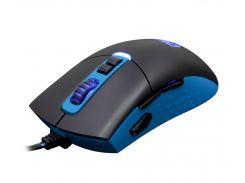 Мышь Sades S16 Gunblade Black/Blue USB