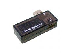 USB тестер Charger Doktor Aida A-3333 для измерения напряжения и тока при зарядке моб.устройства