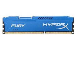 Память 4Gb DDR3, 1600 MHz (PC3-12800), Kingston HyperX Fury, Blue, 10-10-10-28, 1.5V, с радиатором (HX316C10F/4)