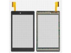 """Сенсорный экран для планшета China-Tablet PC 7""""; мобильного телефона Archos 70 Platinum, 7"""", 188 мм, 109 мм, 45 pin, емкостный, черный, #HXD-0786"""