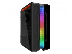 "Корпус Cougar Gemini T, Mini ITX / Micro ATX / ATX, 2*3.5""+3*2.5"", подсветка Trelux RGB, Glass Wings боковые панели"