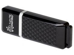 USB Flash Drive 32Gb Smartbuy Quartz series Black / SB32GBQZ-K