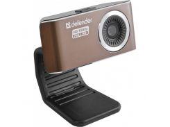 Web камера Defender G-LENS 2693 Black, 2 Mpx, 1920x1080, USB 2.0, встроенный микрофон