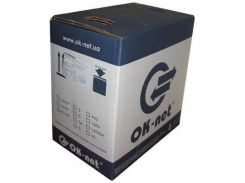 Кабель сетевой OC-SFTP5E-BOX OK-Net (КПВЭО-ВП (200) 4х2х0,51)