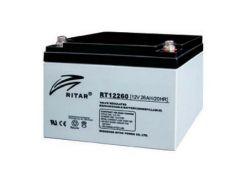 Батарея к ИБП Ritar AGM RT12260, 12V-26Ah (RT12260)