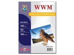 Бумага WWM A4 (M100.100/ M100.100/С)