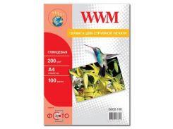 Бумага WWM A4 (G200.100)