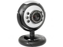 Web камера Defender C-110 Black/Gray, 0.3 Mpx, 640x480, USB 2.0, встроенный микрофон