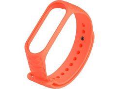 Ремешок для фитнес браслета Xiaomi Mi Band 3 Orange (425566)
