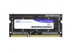 модуль памяти для ноутбука sodimm ddr3l 4gb 1600 mhz team (ted3l4g1600c11-s01)