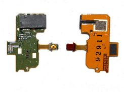 Шлейф Nokia N97 with HF connector and power switch button