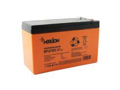 Батарея для ИБП 12В 7.2Ач Merlion, GP1272F2, ШхДхВ 65х151х100, Orange