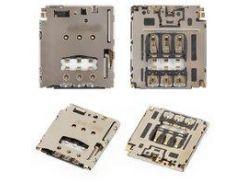Коннектор SIM-карты Motorola XT1062 Moto G2, XT1063 Moto G2, XT1064 Moto G2, XT1068 Moto G2