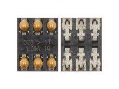 Коннектор SIM-карты Nokia 2220s, 2690, 2730c, 3109, 3500, 3610f, 5200, 5228, 5230, 5233, 5235, 5300, 5320, 5500, 5800, 6120c, 6121c, 6300, 6301, 6555,
