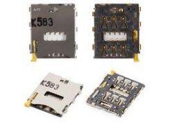 Коннектор SIM-карты Sony D5803 Xperia Z3 Compact Mini, D5833 Xperia Z3 Compact Mini, D6603 Xperia Z3, D6633 Xperia Z3 DS, D6643 Xperia Z3, D6653