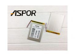 Аккумулятор универсал 3.0*70*100мм Aspor (2800 mAh)