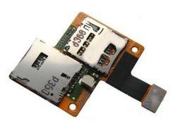 Коннектор Sim и карты памяти для HTC 601 Desire на шлейфе,  на 1 SIM-карту