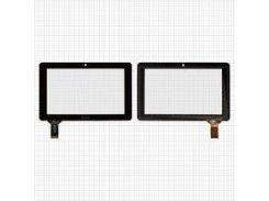 """Сенсорный экран China-Tablet PC 7""""; Ainol Novo 7 Crystal, Novo 7 Elf, 7"""", 117 мм, 186 мм, 30 pin, емкостный, черный, #HOTATOUCH"""
