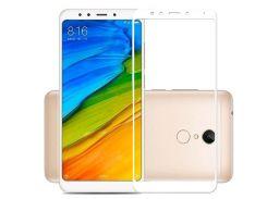Стекло XIAOMI Redmi Note 5,Note 5 Pro Full Glue (0.3 мм, 2.5D, с олеофобным покрытием) белый