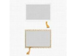 "Сенсорный экран China-Tablet PC 10,1""; Nomi C10105 Stella+, 10,1"", 167 мм, 237 мм, 50 pin, емкостный, белый, #MJK-0692 FPC"