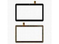"""Сенсорный экран Nomi C10104 Terra S 10"""" 3G, 10,1"""", 156 мм, 247 мм, 30 pin, емкостный, черный, Original, #RP-400A-10.1-FPC-A3 SLR"""