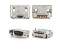 Коннектор зарядки LG BL20, GD510, GS290, GS500, GT505, GT540, GW520, P500, P970 Optimus Black, 5 pin, micro-USB тип-B