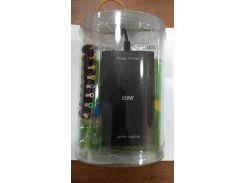Зарядное устройство для ноутбука универсалальное 12V-24V/ 120W 8в1 (Сеть+Автомобильное зарядное устройство+USB)