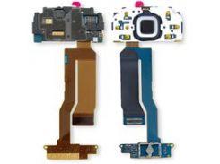 Шлейф Nokia N85, межплатный, с компонентами, с верхним клавиатурным модулем, used, tested