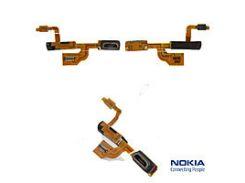Шлейф Nokia 925 Lumia,  с разьемом зарядки,  с разьемом наушниковов,  с компонентами