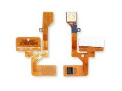Шлейф Nokia 6111, кнопок звука, вспышки, с компонентами