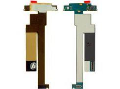 Шлейф Nokia N86, межплатный, с компонентами, с камерой