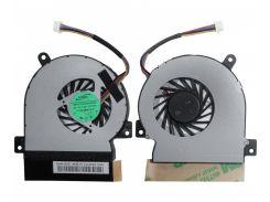 Оригинальный вентилятор для ноутбука ASUS Eee PC 1215, 1215T, 1215P, 1215N, 1215B, VX6, DC5V 0.50A, 4pin (ADDA AB05105HX69DB00) (Кулер)