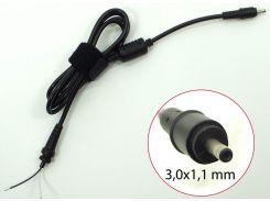 Кабель для Зарядное устройство ноутбука Acer/ Asus/ Samsung 3.0*1.1mm 40W-65W+ферритовый фильтр+стяжка оригинал
