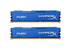 Модуль памяти для компьютера DDR3 16Gb (2x8GB) 1600 MHz HyperX Fury Fury Blu Kingston (HX316C10FK2/16)