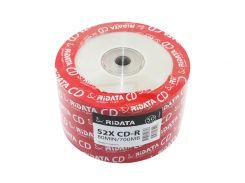 Диск CD-R 50 Ridata, 700Mb, 52x, Bulk Box