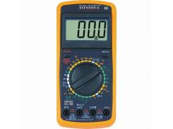 Мультиметр DT9208A Black/Orange