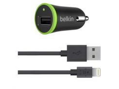 АЗУ Belkin F8J078 2in1 (adap+cab) 2.1A iPhone 5 черный
