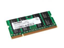 Память SO-DIMM 2Gb, DDR2, 800 MHz (PC2-6400), Elpida (EBE21UE8ACUA-8G-E)