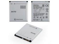 Аккумулятор BA750 Sony Ericsson LT15i, (Li-ion 3.6V 1500mAh)