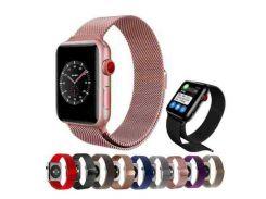 Ремешок Apple Watch Milanese loop 42mm золотой