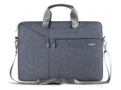 """Нейлоновая сумка WIWU Gent Brief Case для MacBook 15.4"""" - Gray"""