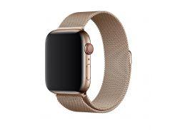 Ремешок Apple Watch 2/ 3/ 4 (42mm) металлический с корпусом,  оригинальный (золото)