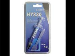 Термопаста Halnziye HY880 Шприц 4гр теплопроводность 5.15Вт/ м*К теплосопротивление 0.004c/ Вт