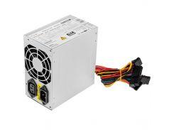 Блок питания LogicPower Micro Matx 400W ATX-400W, 80 mm, 20+4pin, 4x4pin, SATA х 2, Molex 2x4pin, кабеля немодульные