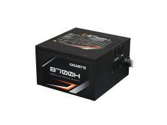 Блок питания 700W, Gigabyte GP-B700H, Black, модульный, 120 мм, PFC, 80 Plus Bronze, MB: 20+4 pin, CPU: 4+4 pin, VGA: 4 x 6+2 pin, 3xMolex / 1xFDD /
